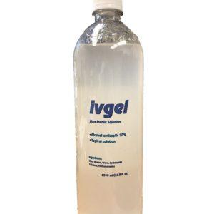 One Liter Bottles 70% Alcohol Gel (Pallet)