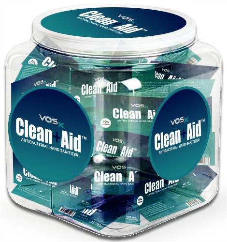 1/4 oz Hand Sanitizer Packets Bulk - 70% Alcohol 250 Packs